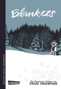 Graphic Novel paperback: Blankets - Klickt hier für die große Abbildung zur Rezension