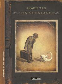 Graphic Novel Paperback: Ein neues Land - Klickt hier für die große Abbildung zur Rezension
