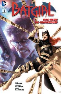 Batgirl 5: Jagd auf Batgirl! - Klickt hier für die große Abbildung zur Rezension