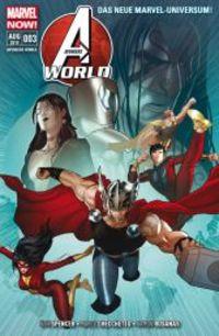 Avengers World 3: Mit vereinten Kräften - Klickt hier für die große Abbildung zur Rezension