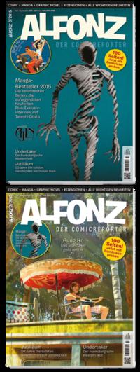 Alfonz 3/2015 - Klickt hier für die große Abbildung zur Rezension