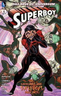 Superboy 4: Superboys Geheimnis - Klickt hier für die große Abbildung zur Rezension