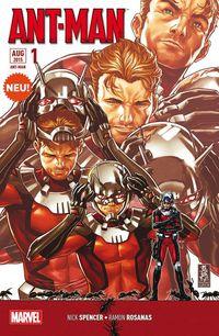 Ant-Man Sonderband 1 - Klickt hier für die große Abbildung zur Rezension