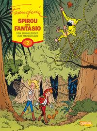Spirou und Fantasio 2: Von Rummelsdorf zum Marsupilami - Klickt hier für die große Abbildung zur Rezension