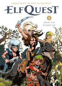 Abenteuer in der Elfenwelt: ElfQuest 2 - Klickt hier für die große Abbildung zur Rezension
