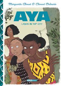 Aya: Leben in Yop City  - Klickt hier für die große Abbildung zur Rezension