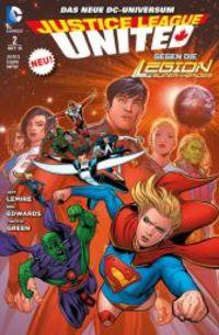 Justice League United 2: Die Infinitus-Saga - Klickt hier für die große Abbildung zur Rezension