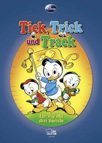 Tick, Trick und Track: Ein Trio mit drei Bürzeln - Klickt hier für die große Abbildung zur Rezension