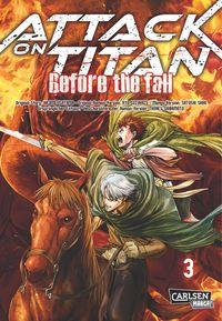 Attack on Titan - Before the Fall 3 - Klickt hier für die große Abbildung zur Rezension