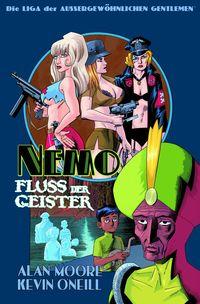 Die Liga der Außergewöhnlichen Gentlemen: Nemo – Fluss der Geister - Klickt hier für die große Abbildung zur Rezension
