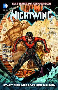 Nightwing 4: Stadt der verbotenen Helden - Klickt hier für die große Abbildung zur Rezension