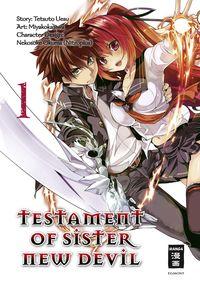 Testament of Sister New Devil 1 - Klickt hier für die große Abbildung zur Rezension