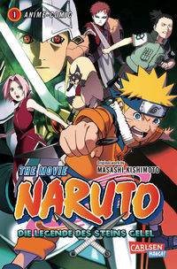 Naruto The Movie: Die Legende des Steins Gelel 1 - Klickt hier für die große Abbildung zur Rezension