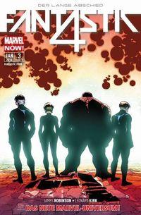 MARVEL NOW! Fantastic Four 3: Der Lange Abschied - Klickt hier für die große Abbildung zur Rezension