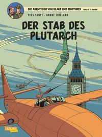 Die Abenteuer von Blake & Mortimer 20: Der Stab des Plutarch - Klickt hier für die große Abbildung zur Rezension