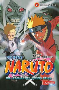 Naruto The Movie: Die Legende des Steins Gelel 2 - Klickt hier für die große Abbildung zur Rezension