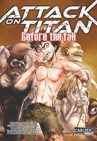 Attack on Titan - Before the Fall 4 - Klickt hier für die große Abbildung zur Rezension