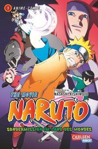 Naruto The Movie: Sondermission im Land des Mondes 1 - Klickt hier für die große Abbildung zur Rezension