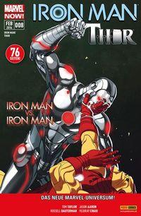 Iron Man/Thor 08 - Klickt hier für die große Abbildung zur Rezension