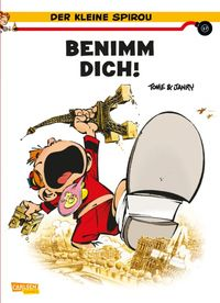 Der kleine Spirou 17: Benimm Dich! - Klickt hier für die große Abbildung zur Rezension