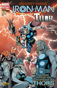Iron Man/Thor 09 - Klickt hier für die große Abbildung zur Rezension