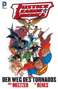 Justice League of America: Der Weg des Tornados - Klickt hier für die große Abbildung zur Rezension