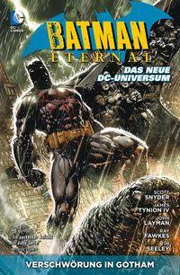 Batman Eternal 1: Verschwörung in Gotham - Klickt hier für die große Abbildung zur Rezension