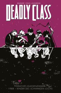 Deadly Class - Tödliches Klassenzimmer 2: 1988 - Kinder des schwarzen Lochs  - Klickt hier für die große Abbildung zur Rezension