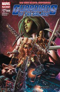 Marvel NOW! Guardians of the Galaxy 8: Die Wächter von KNOWHERE - Klickt hier für die große Abbildung zur Rezension
