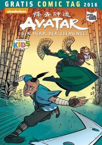Avatar-Der Herr der Elemente – Gratis Comic Tag 2016 - Klickt hier für die große Abbildung zur Rezension