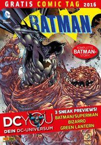 Batman – Gratis Comic Tag 2016 - Klickt hier für die große Abbildung zur Rezension