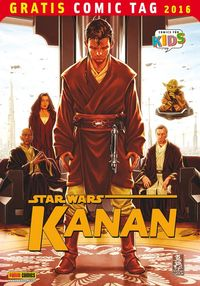 Star Wars Kanan – Gratis Comic Tag 2016 - Klickt hier für die große Abbildung zur Rezension