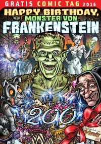 Happy Birthday, Monster von Frankenstein - Klickt hier für die große Abbildung zur Rezension