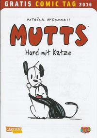 Mutts: Hund mit Katze - Gratis Comic Tag 2016 - Klickt hier für die große Abbildung zur Rezension