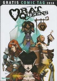 Rat Queens - Gratis Comic Tag 2016 - Klickt hier für die große Abbildung zur Rezension