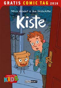 Kiste – Gratis Comic Tag 2016 - Klickt hier für die große Abbildung zur Rezension
