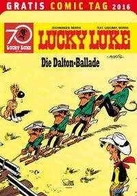 Lucky Luke – Gratis Comic Tag 2016 - Klickt hier für die große Abbildung zur Rezension