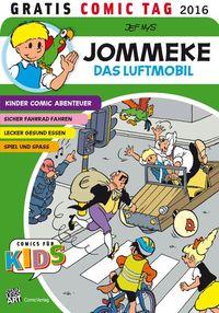 Jommeke – Gratis Comic Tag 2016 - Klickt hier für die große Abbildung zur Rezension