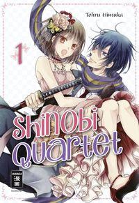 Shinobi Quartet 1 - Klickt hier für die große Abbildung zur Rezension