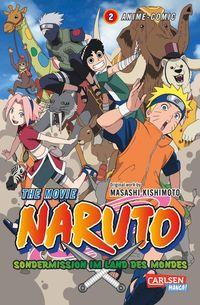 Naruto The Movie: Sondermission im Land des Mondes 2 - Klickt hier für die große Abbildung zur Rezension