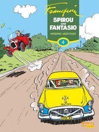 Spirou und Fantasio 4: Moderne Abenteuer - Klickt hier für die große Abbildung zur Rezension