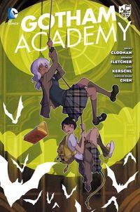 Gotham Academy 1 - Klickt hier für die große Abbildung zur Rezension