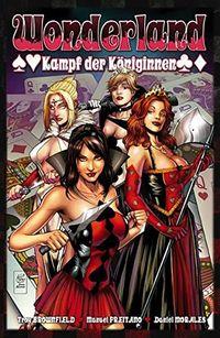 Wonderland 11: Kampf der Königinnen - Klickt hier für die große Abbildung zur Rezension