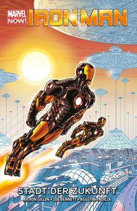 Iron Man Marvel Now Paperback 4: Stadt der Zukunft - Klickt hier für die große Abbildung zur Rezension