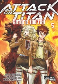 Attack on Titan - Before the Fall 5 - Klickt hier für die große Abbildung zur Rezension