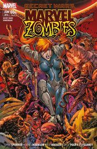 Secret Wars Sonderband 4: Marvel Zombies - Klickt hier für die große Abbildung zur Rezension