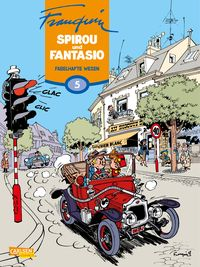 Spirou und Fantasio 5: Fabelhafte Wesen - Klickt hier für die große Abbildung zur Rezension