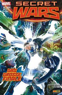 Secret Wars #9 - Klickt hier für die große Abbildung zur Rezension