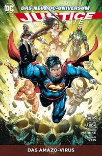Justice League Paperback 9: Das Amazo-Virus - Klickt hier für die große Abbildung zur Rezension
