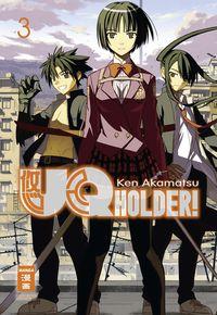 UQ Holder! 03 - Klickt hier für die große Abbildung zur Rezension
